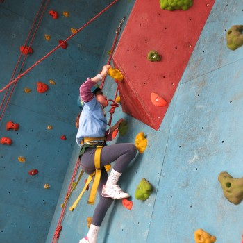 Picture of a climber